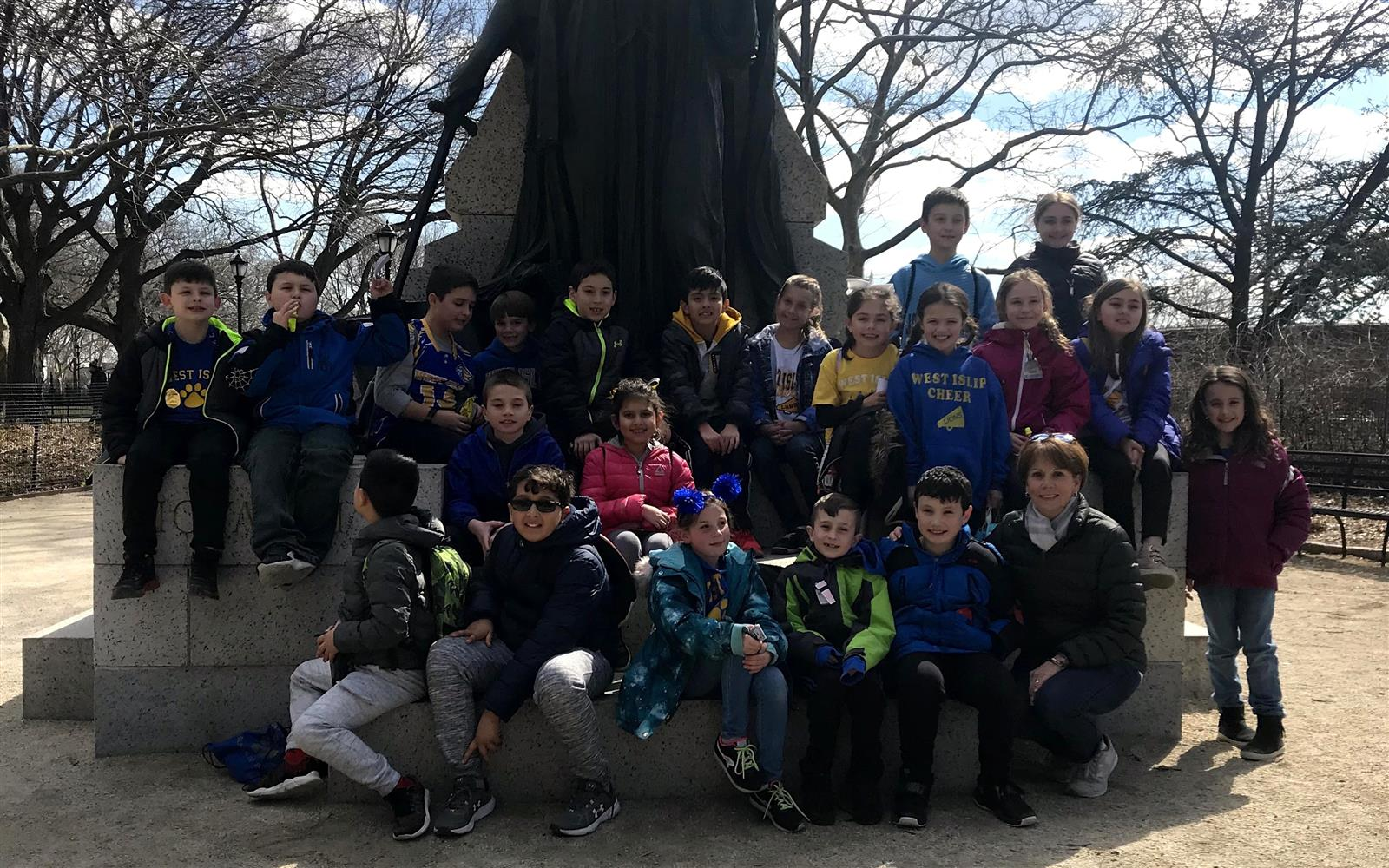 Bayview Third Graders Experience Immigration History at Ellis Island