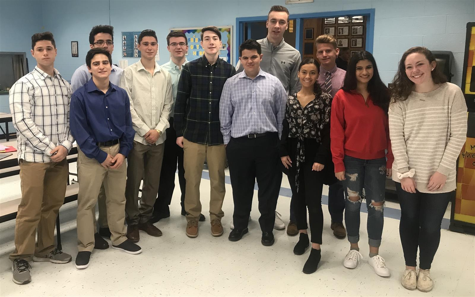 Talented Young West Islip Entrepreneurs Shine in Lion's Den