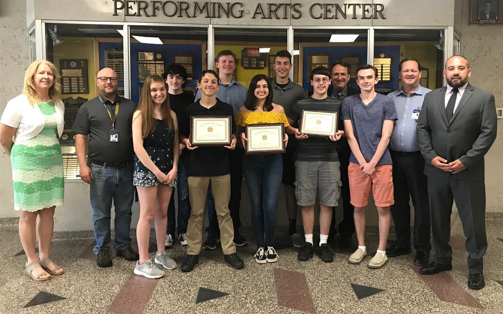 High School Bands Score Gold at NYSSMA