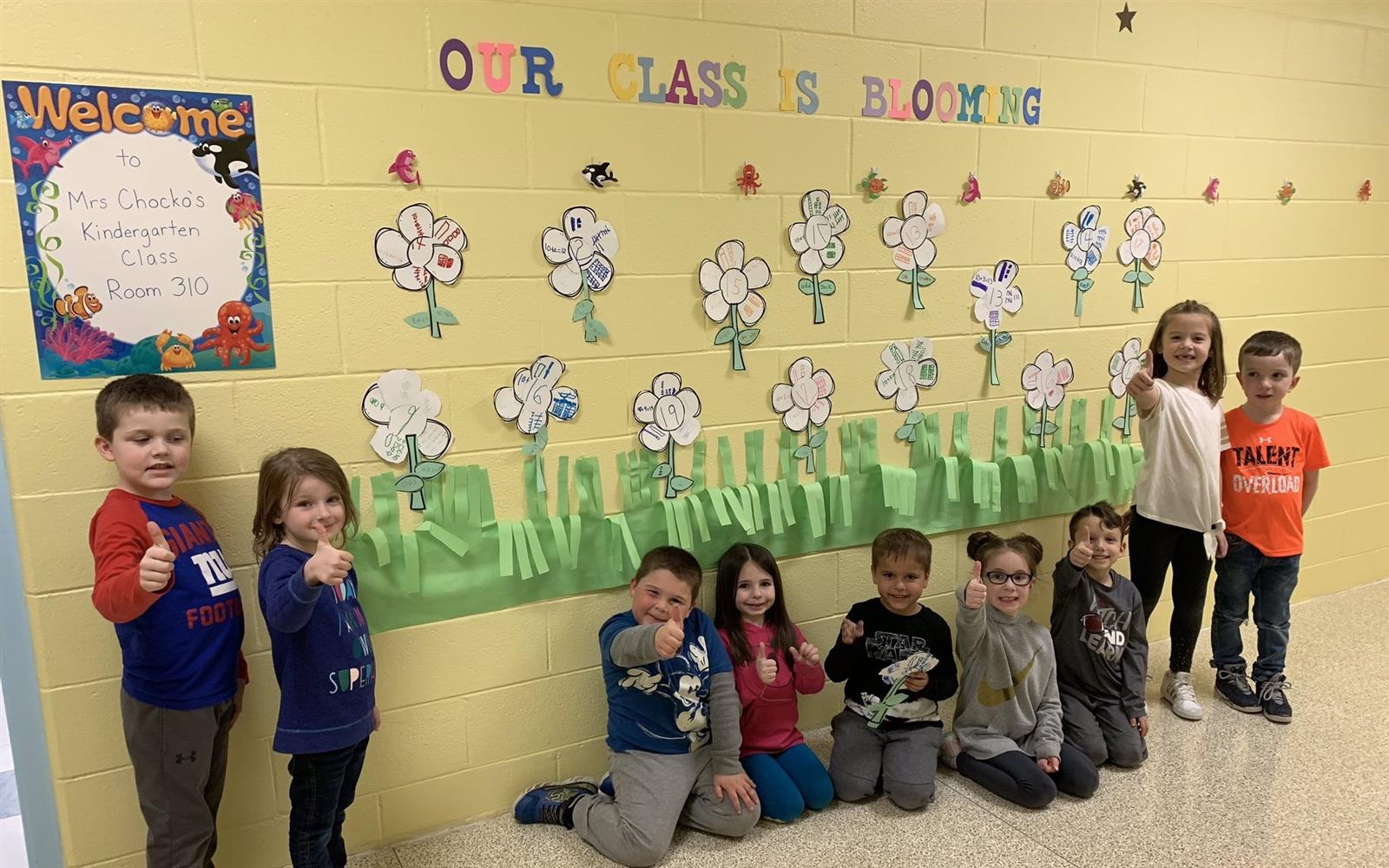 Manetuck Math Skills 'Bloom' to Kick Off Spring