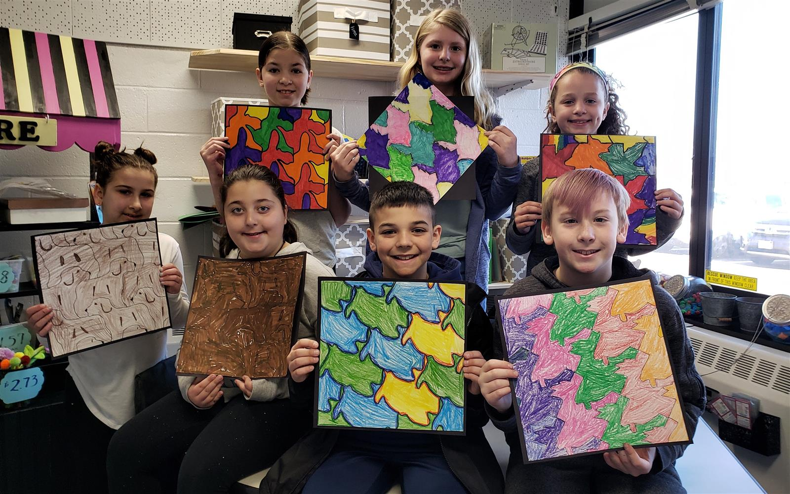Oquenock Number Crunchers Design Terrific Tessellations