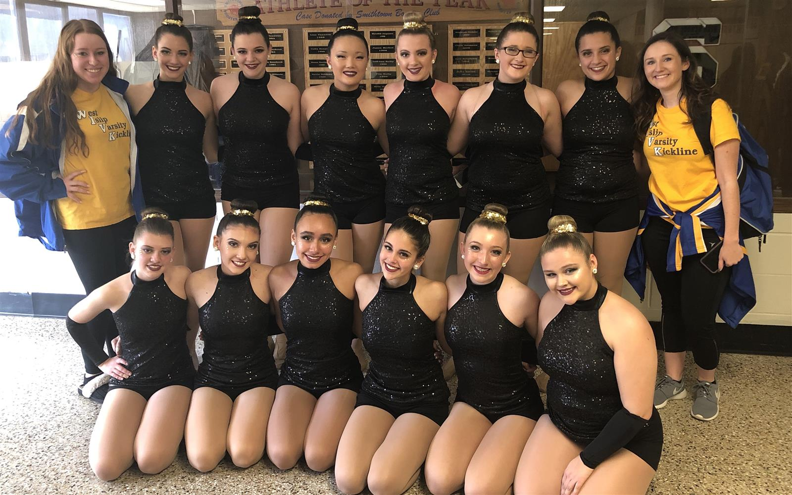 Kickline Team Earns Fifth Place at Championships