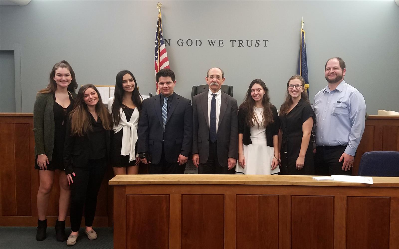 Mock Trial Team Earns First Playoff Berth