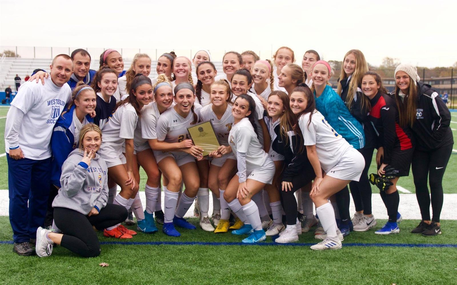 HS Girls Soccer Squad Are County Champs