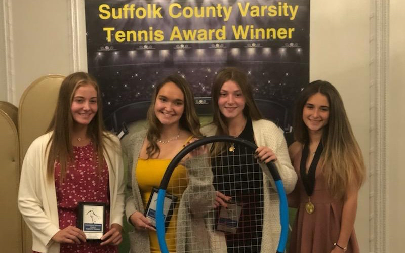 Four High School Girls Tennis Players Recognized