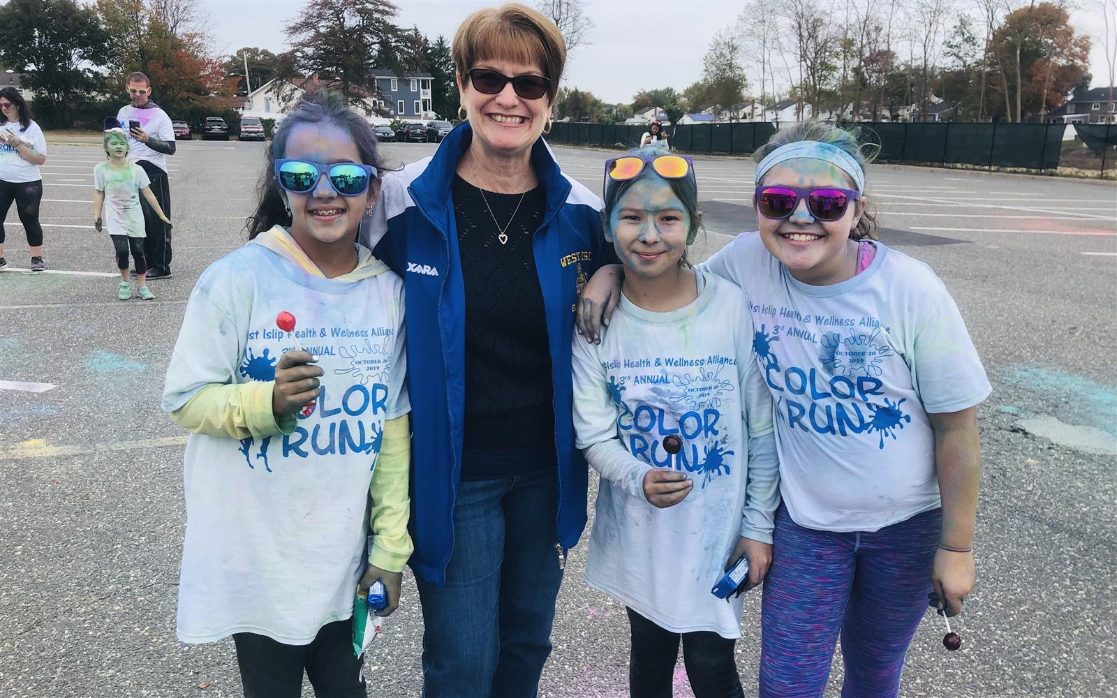 West Islip Fosters Good Health at Third Color Run