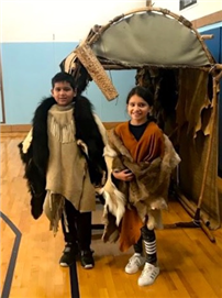 Immersion in Native Culture for Bayview Fourth-Graders 2