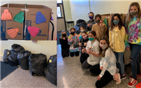Bayview Fifth Graders Give Back Warmly With Coat Donation thumbnail180384