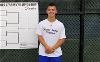 Sophomore Evan Lam Qualifies for Tennis Championship