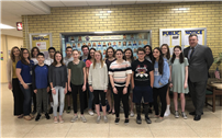 West Islip Recognizes 33 Secondary Students for Scoring Medals on National Spanish Exams