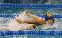 Swimmer Triglia Wins County Title and All-State Honors