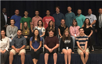 An outstanding group of 18 All-County musicians selected
