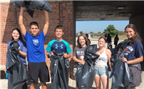 SAFE Club Volunteers for Robert Moses Beach Cleanup thumbnail135872
