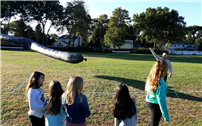 Sixth-Grade Scientists at Udall Prove Air Is Matter