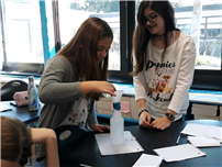 Sixth-Grade Scientists at Udall Prove Air Is Matter 2