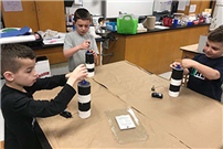 Bayview Students Complete 'Electrifying' Lighthouse Project2