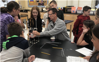 Testing Towers in Oquenock's STEM Lab