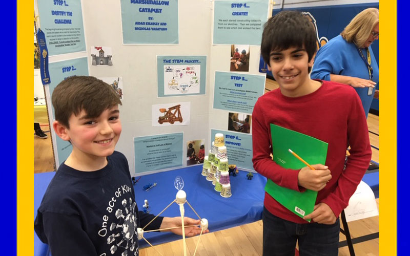 Bellew's Science Fair Demonstrates Excitement About STEM