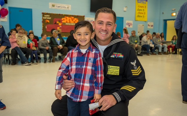 Bayview Celebrates Veterans Day with Enthusiasm